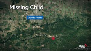 Search continues for missing toddler in northwestern Alberta
